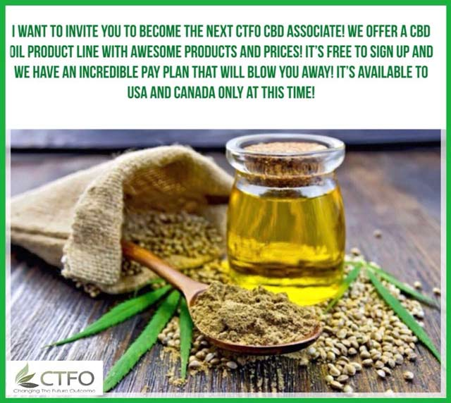 CTFO CBD Hemp oil